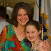 Kristin DeBoer with young daughter