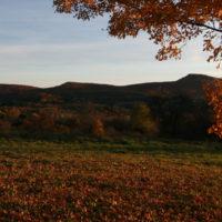 Mt Holyoke Range in autumn