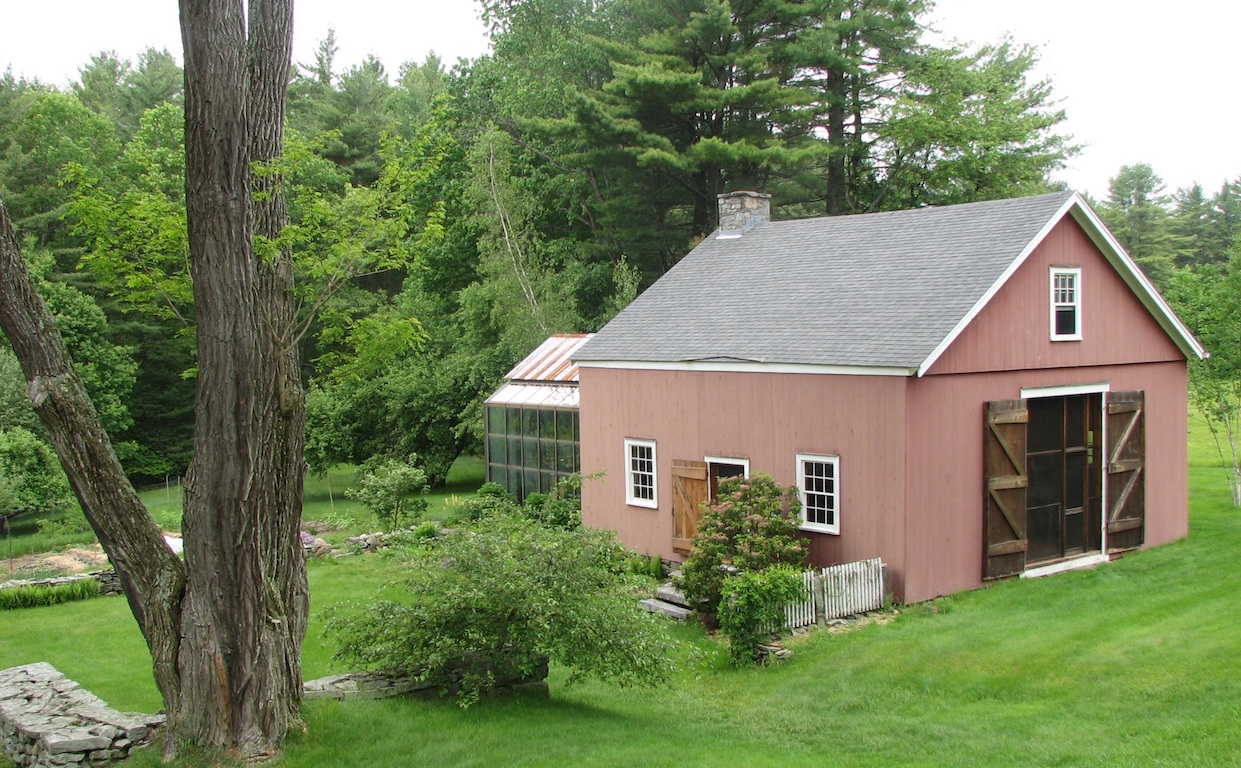 Hepler's Barn And Woods