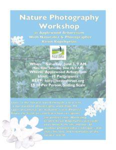 Nature Photo Workshop poster