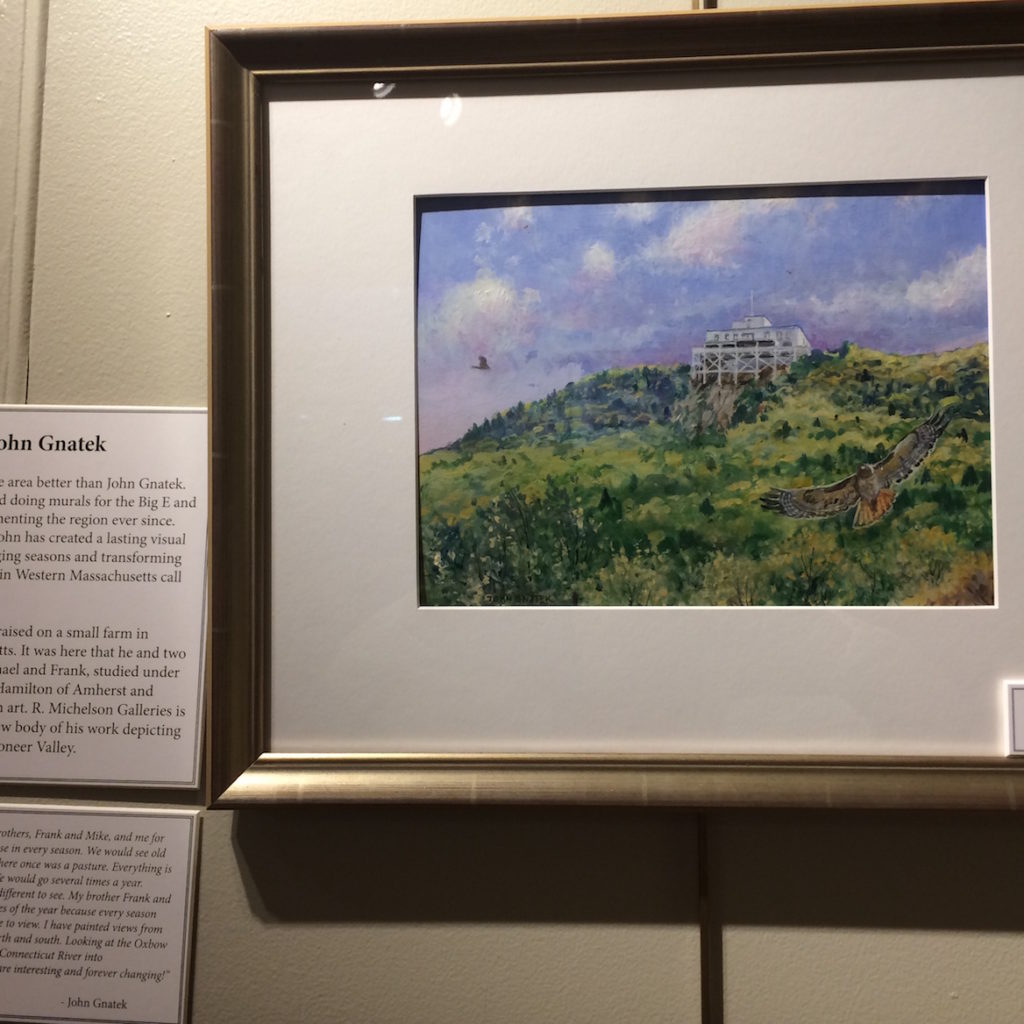 John Gnatek Was Born And Raised On A Small Farm In Hadley And Has Been Painting For 50 Years.