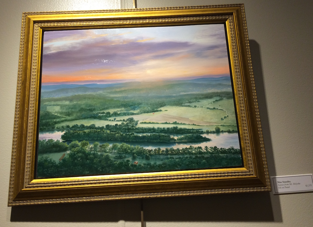 Max Standley (1942-2012)  Sunset From Mt. Holyoke