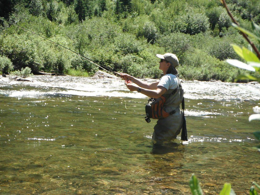 Women fish 002 kestrel land trust for Women fly fishing