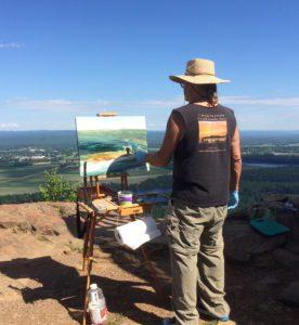 Bob Masla painting