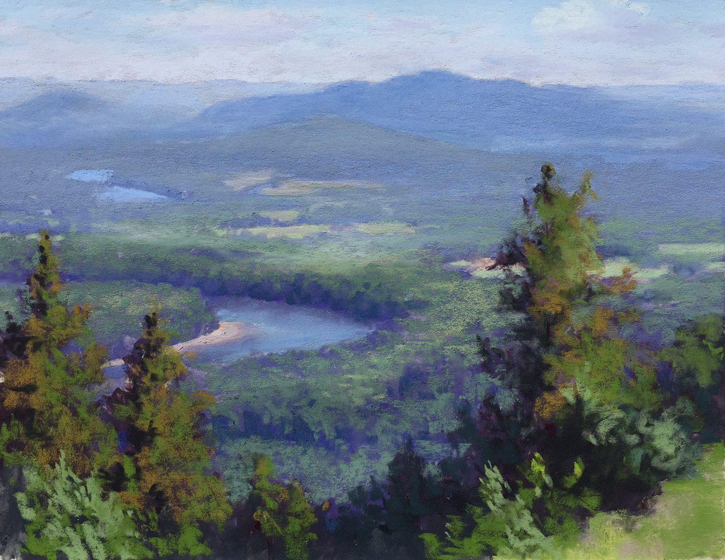 Chris Labich Mt Holyoke painting
