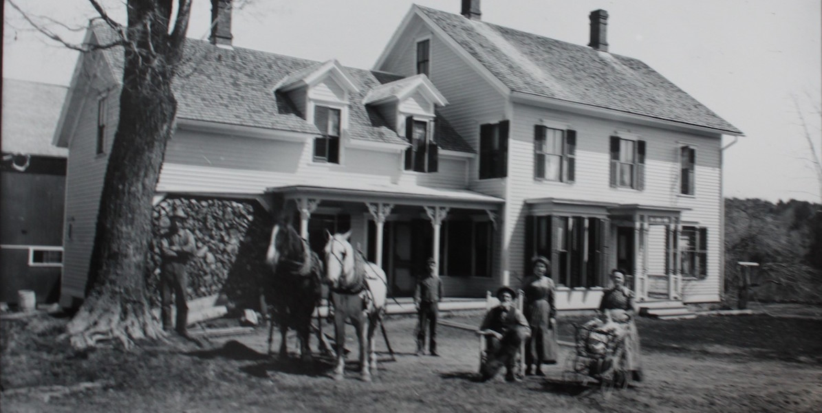 Clapp House Historic Photo