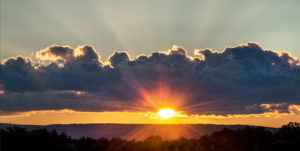 Sunset over Northampton Michael Zide