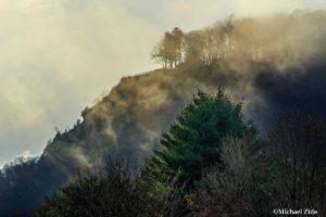 Misty mountain by Michael Zide