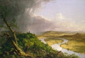 The Oxbow Thomas Cole