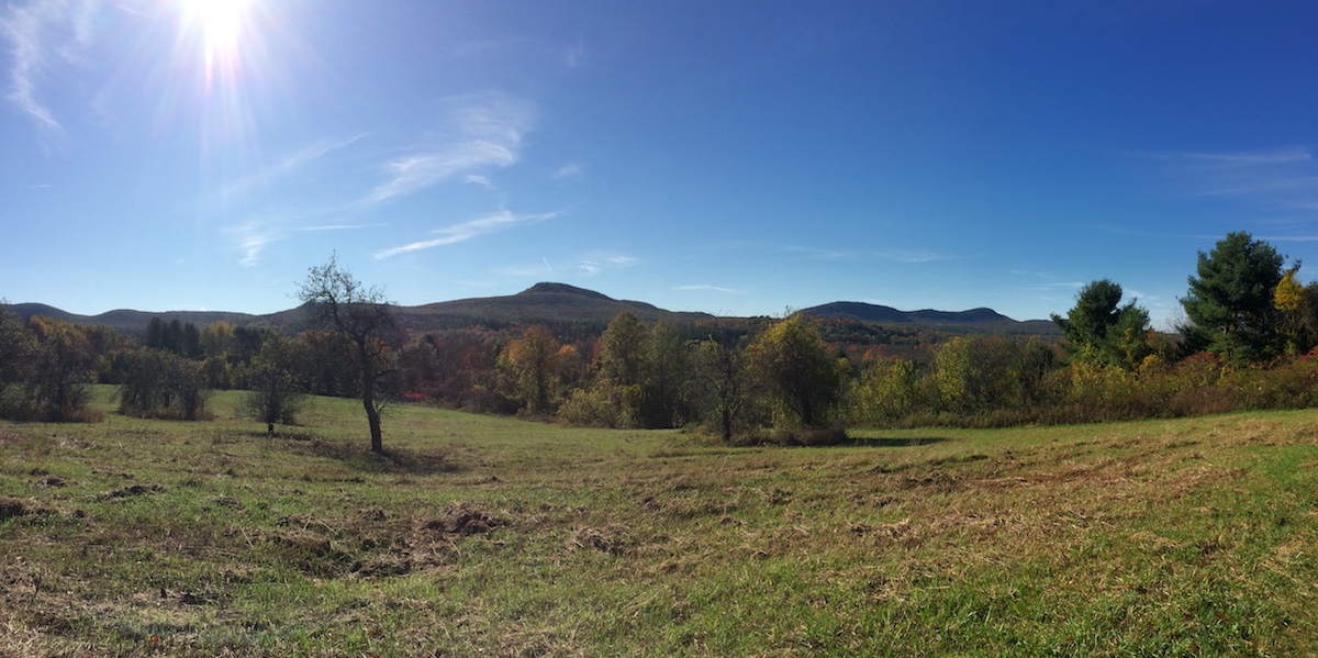 View Of Mount Holyoke Range