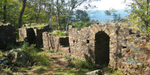 Eyrie House Ruins by Paul Cooper