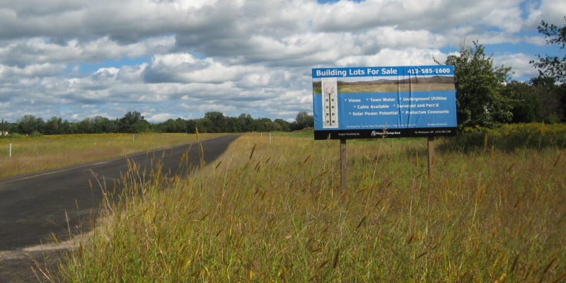 Farmland For Sale Sign