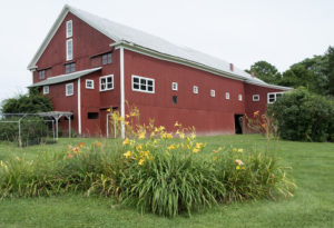 Thayer Farm historic barn