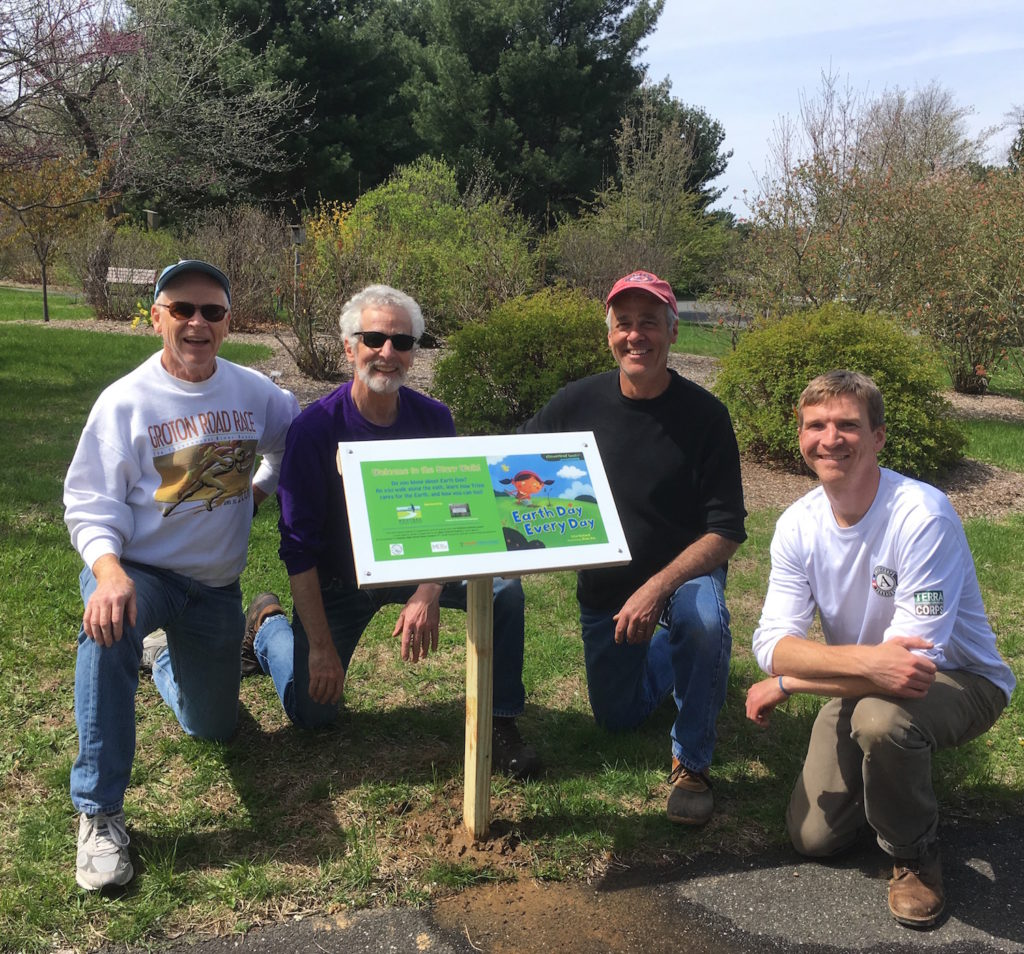 Story Walk sign volunteers