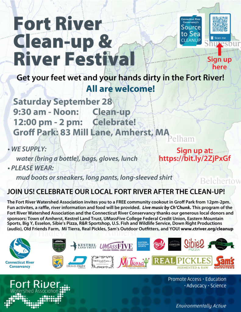Fort River Clean-up & Festival