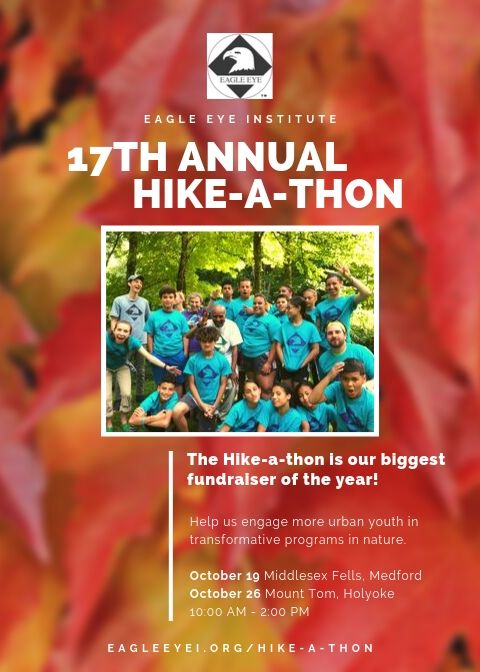 Hike-a-thon poster