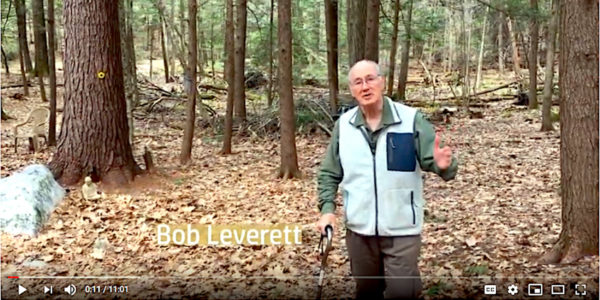 Bob Leverett In Woods Video