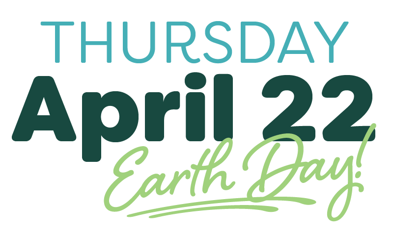 Give Back April 22 Earth Day logo