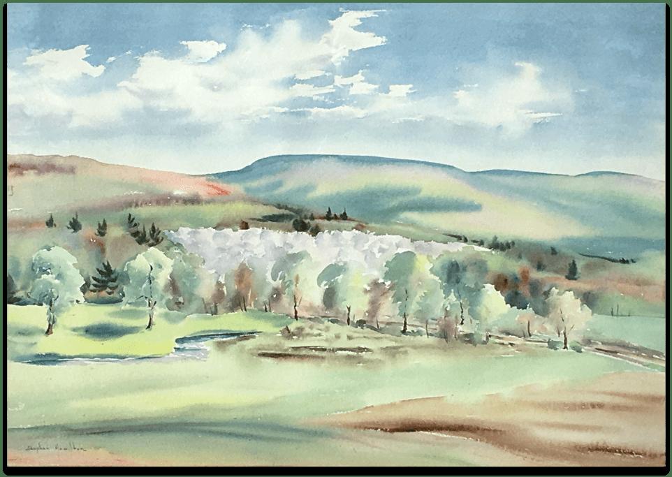 Stephen Hamilton Painting