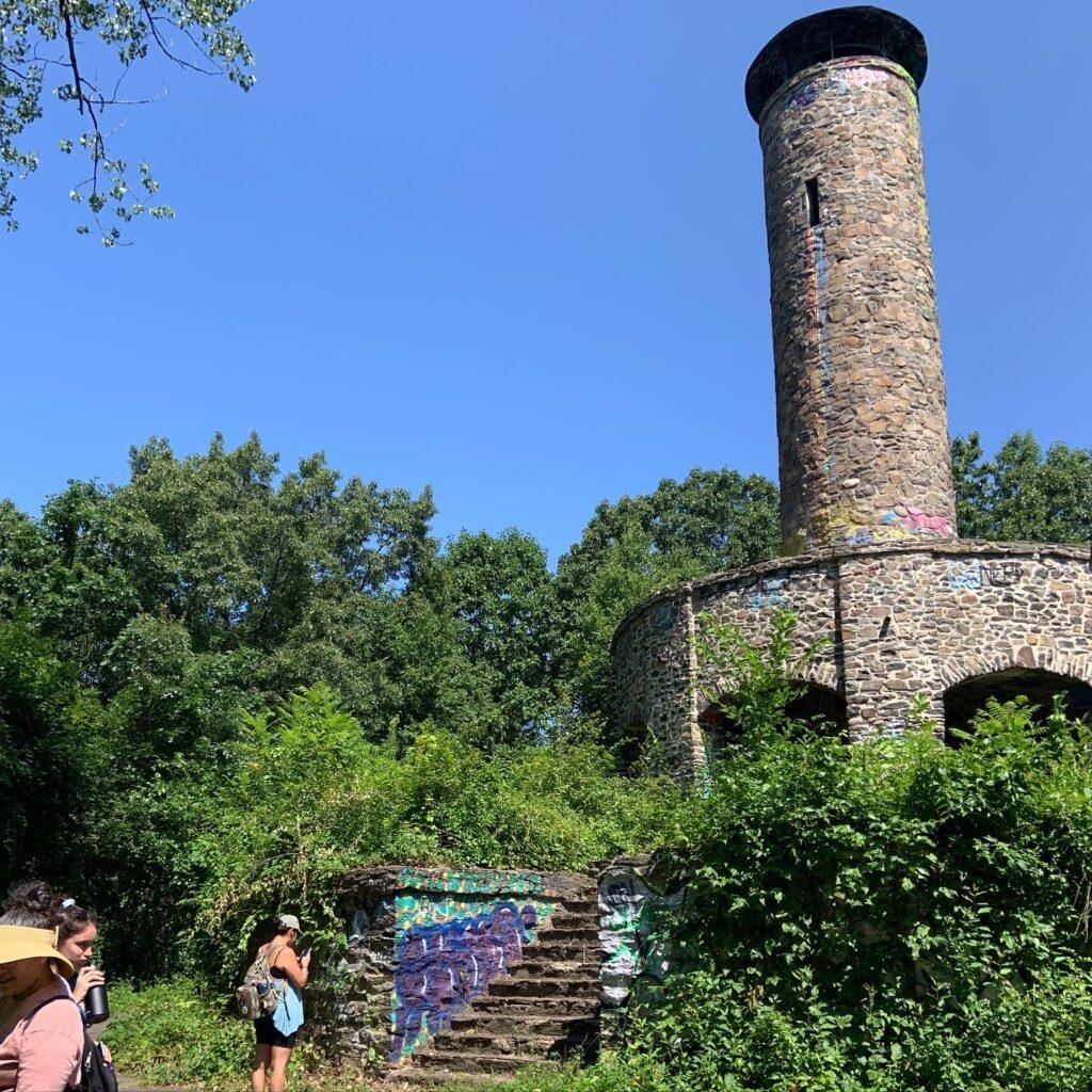 Scott Tower in July